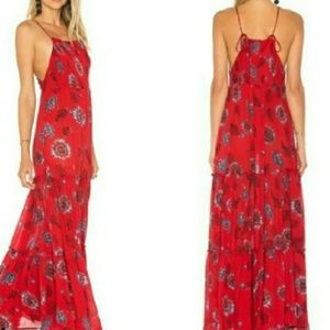 FREE PEOPLE GARDEN MAXI DRESS, SIZE XS, NWT, $128
